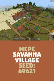 Minecraft Pumpkin Seeds Pe by Cool Mcpe Savanna Village Seed 69621 Minecraft Pe Seeds