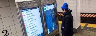 new york a le premier plan de métro avec écran tactile meltystyle