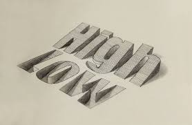Drawing Letters In 3D How To Draw 3D Block Letters Drawing 3