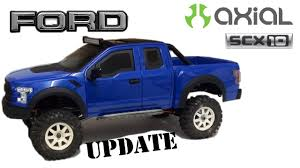 100 Rc Ford Truck Axial Scx10 New Bright Raptor Update 2 Rc Scale 4x4 YouTube