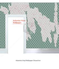 Vinyl Wallpaper Was One Of The Most Sought After Decorative Products Due To Its Easy Installation Process Asbestos
