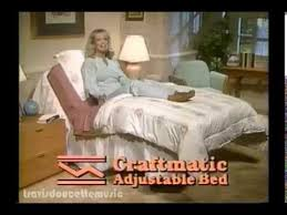 craftmatic adjustable bed 80 s youtube