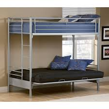 Dorel Twin Over Full Metal Bunk Bed by Furniture Awesome Twin Over Futon Bunk With Mattress Included