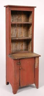 I Soooo Love This CHILDS STEPBACK CUPBOARD Primitive FurnitureCountry