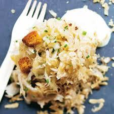cuisiner la choucroute crue choucroute truffée au quintal d alsace d arsène bingert recette
