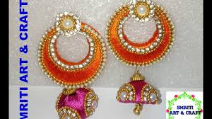 DIY | How To Make Designer Silk Thread Earrings At Home | Tutorial ... How To Make Pearl Bridal Necklace With Silk Thread Jhumkas Quiled Paper Jhumka Indian Earrings Diy 36 Fun Jewelry Ideas Projects For Teens To Make Pearls Designer Jewellery Simple Yet Elegant Saree Kuchu Design At Home How Designer Earrings Home Simple And Double Coloured 3 Step Jhumkas In A Very Easy Silk Earring Bridal Art Creativity 128 Jhumka Multi Coloured Pom Poms Earring Making Jewellery Owl Holder Diy Frame With
