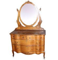Tiger Oak Dresser Beveled Mirror by Antique Oak Dresser With Tilt Mirror Bestdressers 2017