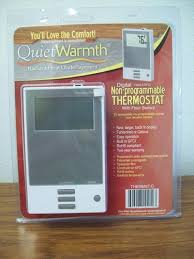 Warm Tiles Thermostat Gfci Tripping by Quietwarmth Thermostat With Floor Sensor At Menards