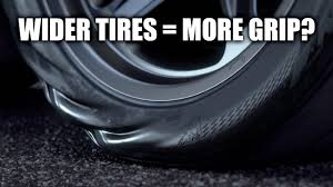 Do Wider Tires Actually Have More Grip? Testing 27 Cars - YouTube