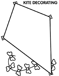 Awesome Coloring Pages Of Kites In Download