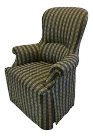 Skirted Gingham Armchair | Chairish Amazoncom Kfine Youth Upholstered Club Chair With Storage Best 25 Bedroom Armchair Ideas On Pinterest Armchair Fireside Chic A Classic Wingback Chair A Generous Dose Of Gingham And Ottoman Ebth Pink Smarthomeideaswin Armchairs Traditional Modern Ikea Fantasy Fniture Roundy Rocking Brown Toysrus Idbury In Ol Check Wesleybarrell Chairs For Boys For Cherubs Wonderfully Upholstered Black White Buffalo Check
