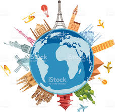 World Travel Symbols Royalty Free Stock Vector Art Amp More Images