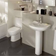 lovable bathroom ideas for small space with white ceramic pedestal