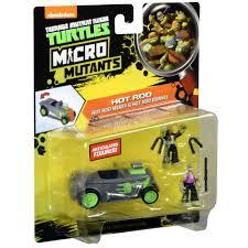 100 Tmnt Monster Truck Teenage Mutant Ninja Turtles Micro Mutant Hot Rod With 115