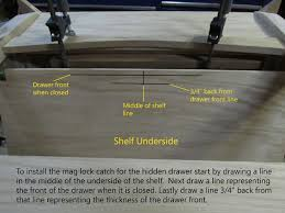 Magnetic Locks For Furniture by Sliding Puzzle Secret Compartment Table 23 Steps With Pictures