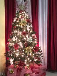 Ideas For Decorating Christmas Trees Fresh Red Silver Tree Martha Stewart