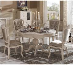 French Country Round Dining Table Set Stocktonandco Ethan Allen And Chairs