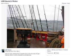Hms Bounty Sinking 2012 by Rescue Video Sandy Sinks Tall Ship Hms Bounty Replica Off Nc 14