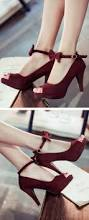 i u0027m not a big fan of peep toe shoes but these are cute burgundy