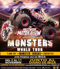 Monsters World Tour, The Monster Trucks Show Arrives In Ibiza