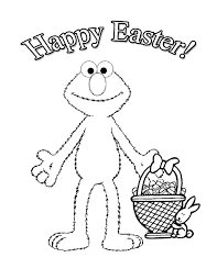 Printable Coloring Easter Cards