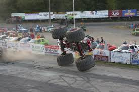 100 Time Flys Monster Truck Tiping Saratoga Speedway
