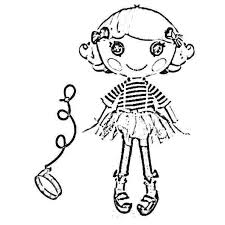 Remarkable Lalaloopsy Coloring Pages Free Download Kids