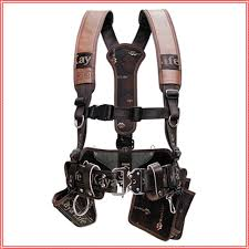 kaya kl 600 work tool belt suspenders drill pouch holder korea ebay