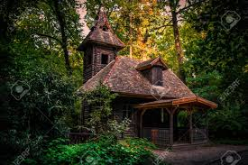 100 House In Forest In The Forest
