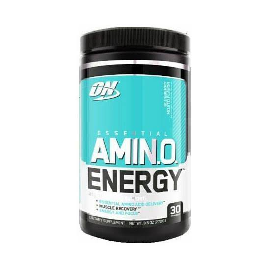 Optimum Nutrition Essential Amino Energy Blueberry Mojito / 30
