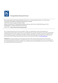 100 Gordon Trucking Pay Scale PDF Measuring Spatial And Temporal Market Structure In A