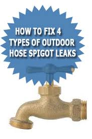 Replacing An Outdoor Faucet by How To Fix 4 Types Of Outdoor Hose Spigot Leaks Asheville Plumber