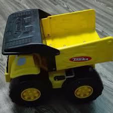 Hasbro Tonka Dump Truck 4000 Metal Pressed Steel & Plastic, Mainan ...