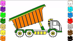 How To Draw Dump Truck - YouTube How To Draw Dump Truck Coloring Pages Kids Learn Colors For With To A Art For Hub Trucks Boys Make A Cake Hand Illustration Royalty Free Cliparts Vectors Printable Haulware Operations Drawing Download Clip And Color Page Online