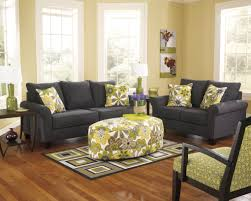 Claremore Sofa And Loveseat by Ashley Alena Charcoal Sofa And Loveseat Living Room Sets