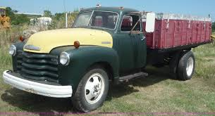 100 1947 Chevrolet Truck Grain Truck Item 2170 SOLD August 25 Ag