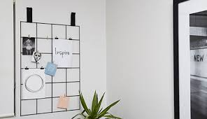 Decorated Wire Mesh Memo Board