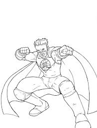 Wwe Coloring Pages 2 Wrestling With WWE Pagejpg