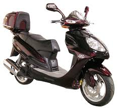 150cc 2 Seater Sport Scooter
