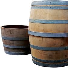 Wine Barrel Napa Rustic Wood Apx 38 In Tall X