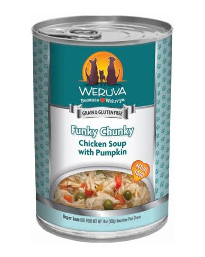 Weruva Funky Chunky Grain Free Canned Dog Food - Chicken Soup with Pumpkin