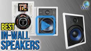 Polk Ceiling Speakers Amazon by Top 7 In Wall Speakers Of 2017 Video Review