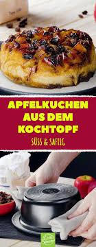 apfelkuchen im topf gebacken leckerschmecker kuchen