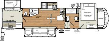 Fifth Wheel Bunkhouse Floor Plans by Sierra 376bhok Outside Kitchen Bunk House Fifth Wheel