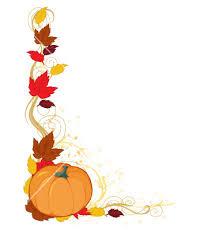 Fall Pumpkin Border Free Clipart
