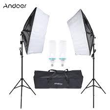 100 Studio Tent US 4659 44 OFFUS STOCK Photography Lighting Kit With 135W Bulb Umbrella Softbox Tripod Stand Softbox Bag Photo Video Equipmentin