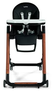 Peg-Perego Siesta High Chair - Agio Black | MacroBaby.com
