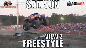 100 Samson Monster Truck Freestyle From MMTS At St Clair County Fair