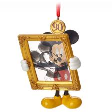 Disney Christmas Ornament Mickey Mouse Legacy Sketchbook