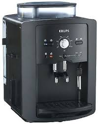Krups Cappuccino Machine 1 Of 2 Coffee Espresso Fully Automatic Black